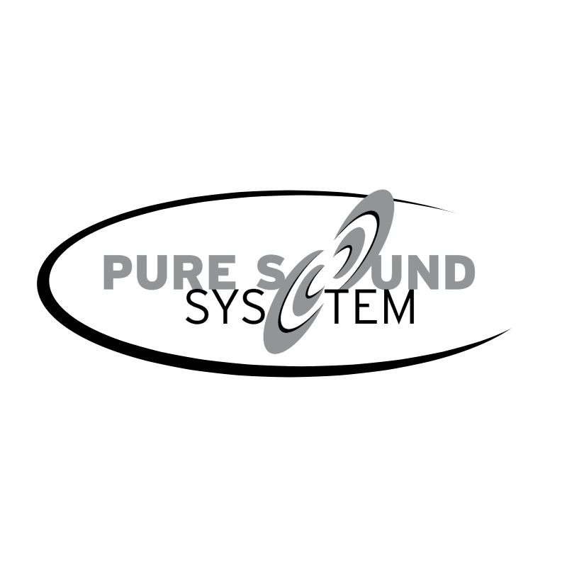 Pure Sound System vector