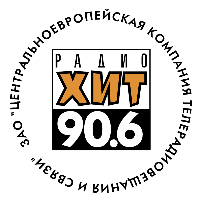 Radio Hit 90 6 FM vector logo
