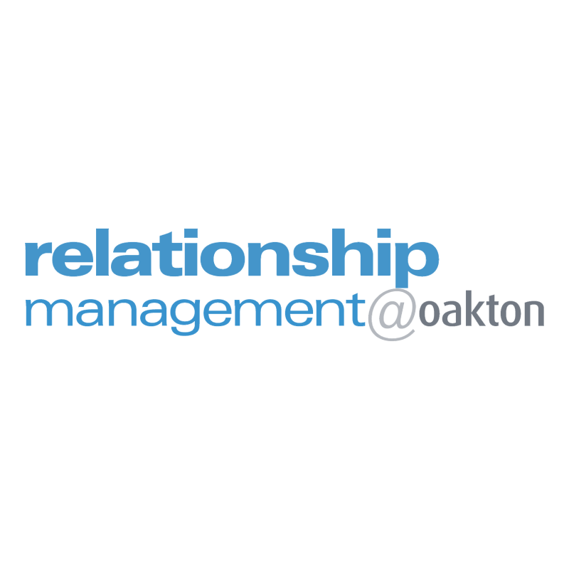 Relationship Management oakton vector logo