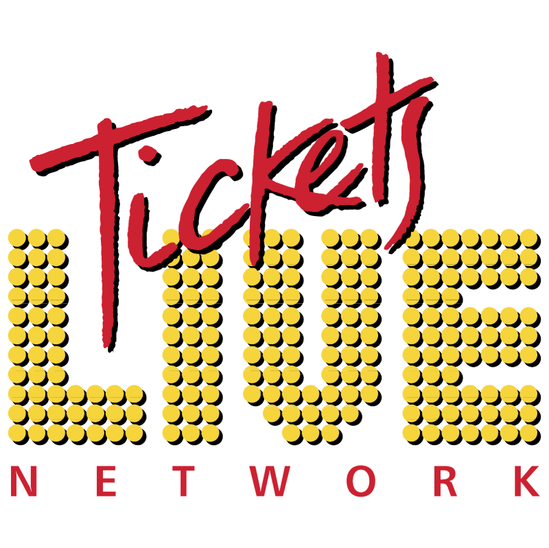 Tickets Live Network vector