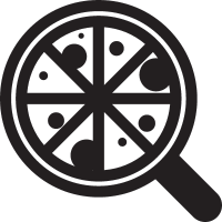 Cutted Pizza vector