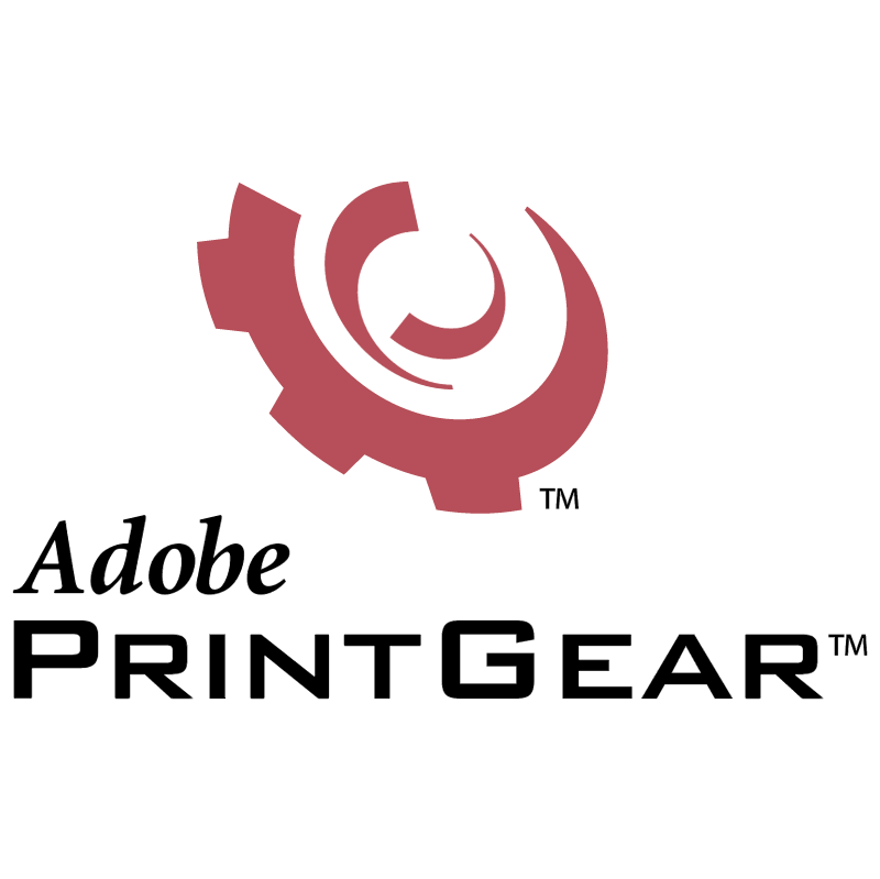 Adobe PrintGear vector