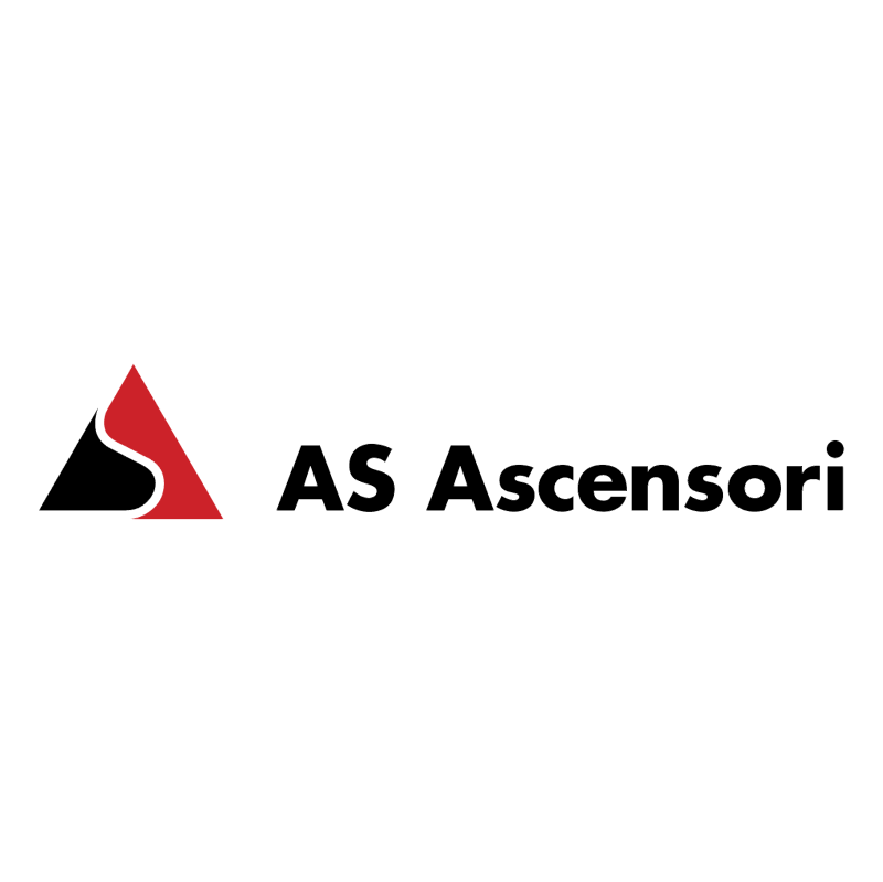 AS Ascensori 77095 vector logo