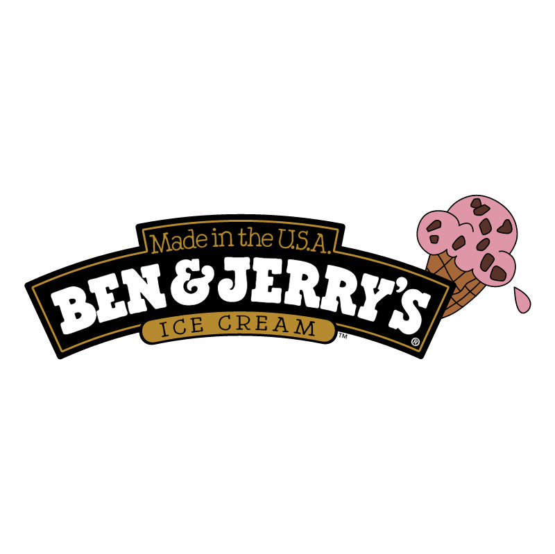 Ben & Jerry's vector