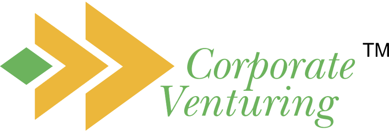 CORPORATE VENTURING vector logo