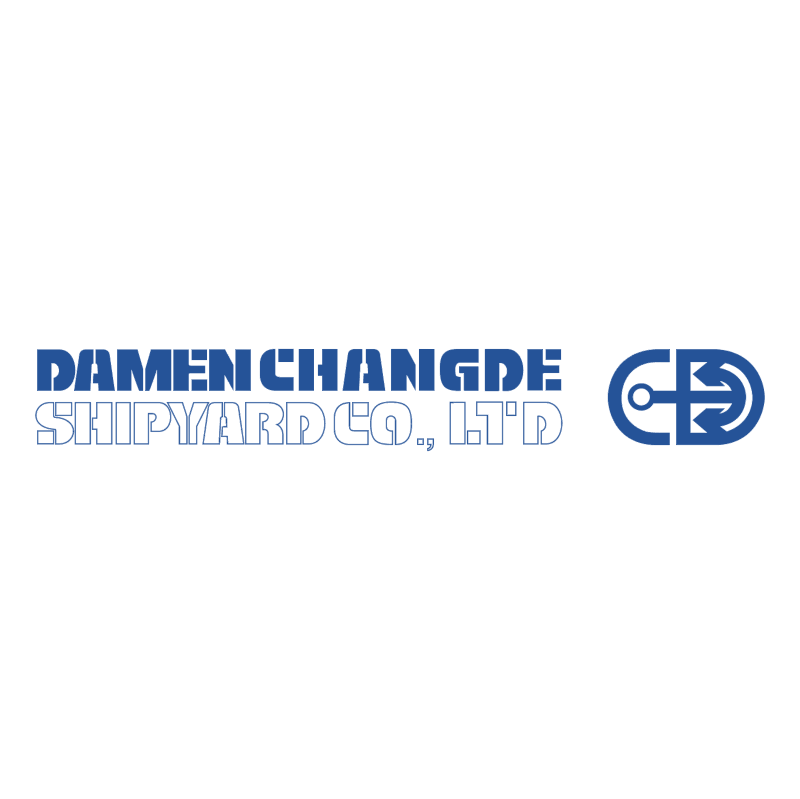 Damen Changde Shipyard vector