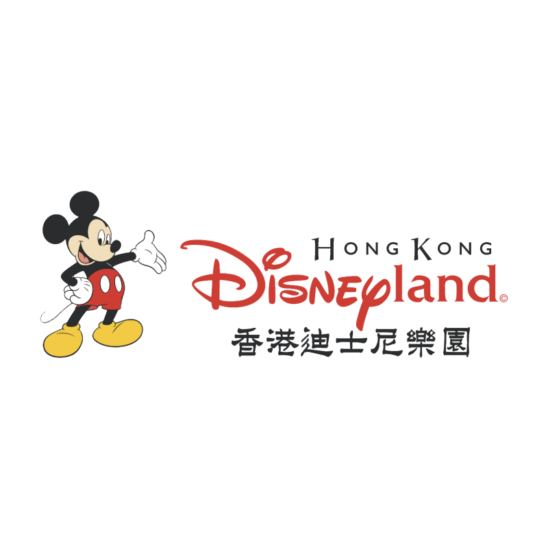 Disneyland Hong Kong vector