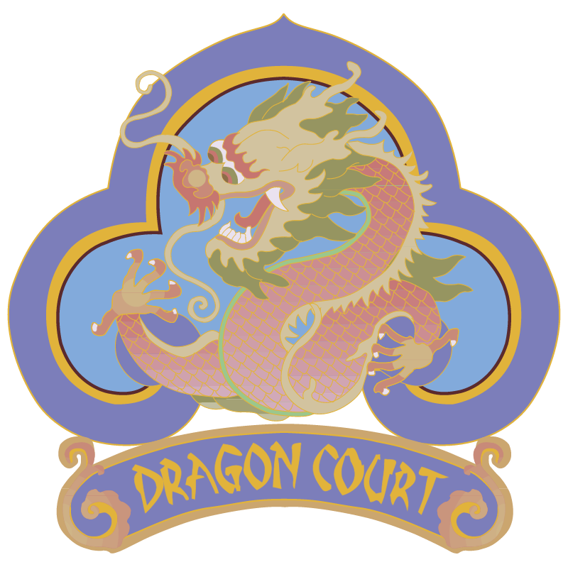 Dragon Court vector logo