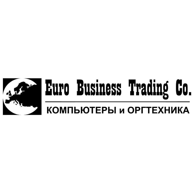 Euro Business Trading vector logo