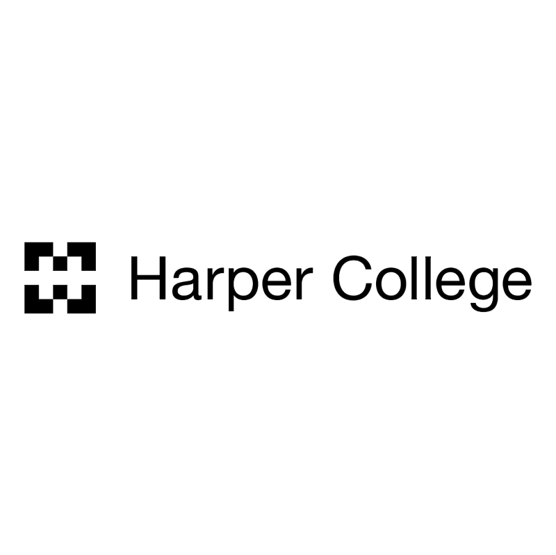 Harper College vector