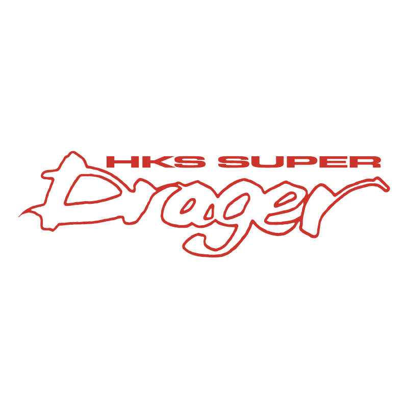 HKS Super Drager vector