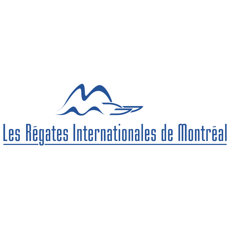 Les Regates Internationales de Montreal vector logo