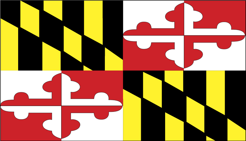 Maryland vector