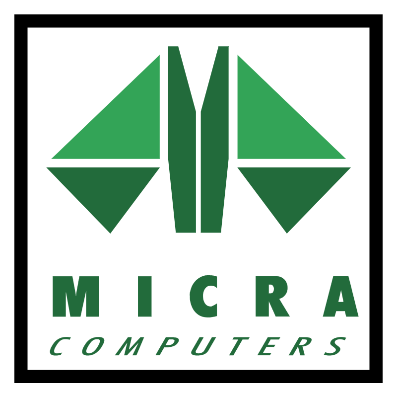 Micra Computers vector logo