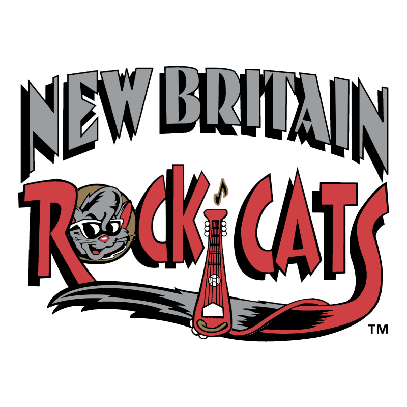 New Britain Rock Cats vector