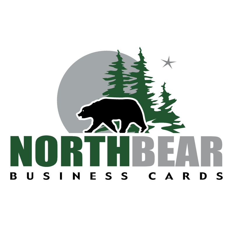 NorthBear Business Cards vector