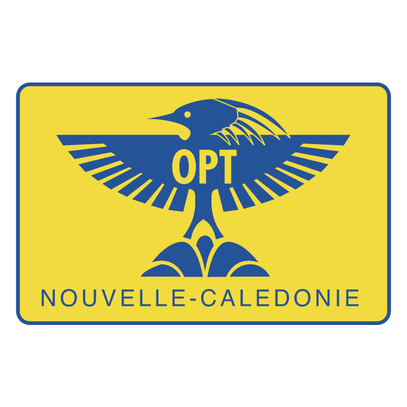 OPT Nouvelle Caledonie vector logo