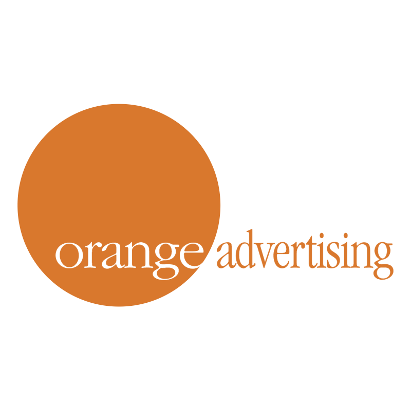 Orange Advertising vector
