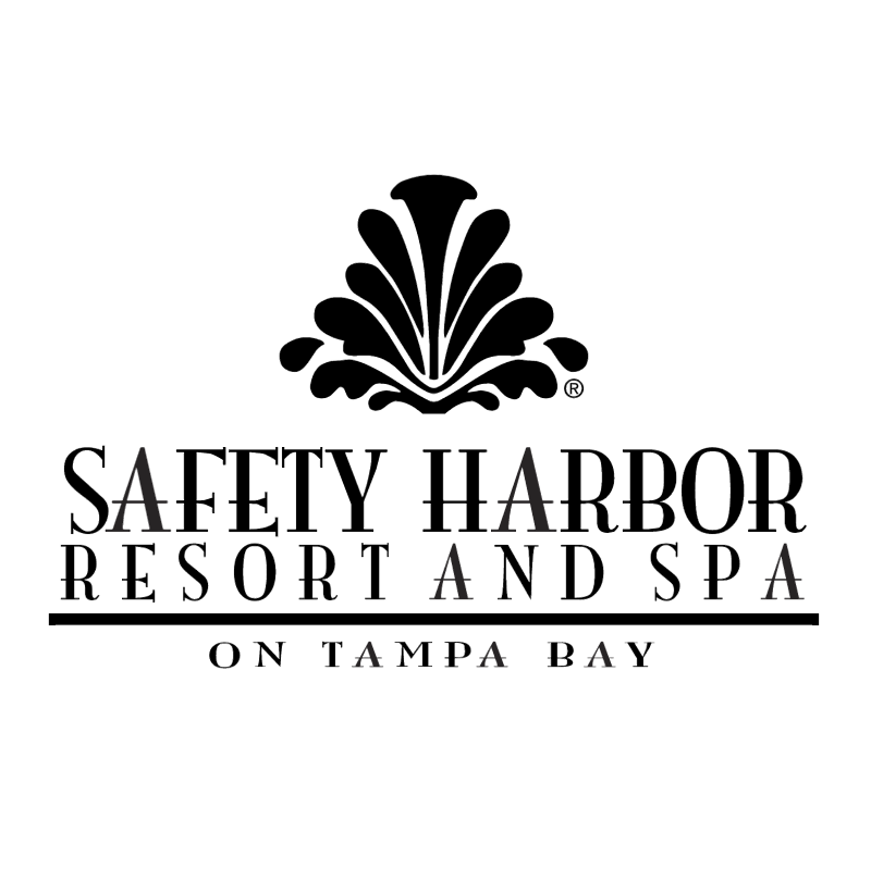 Safety Harbor Resort & Spa vector logo