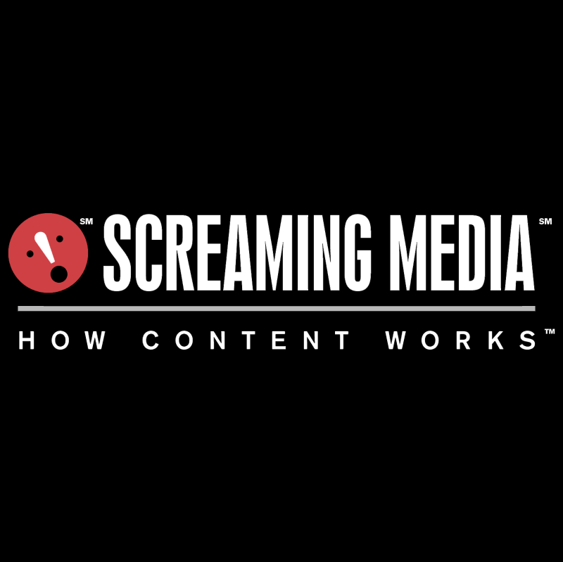 Screaming Media vector logo