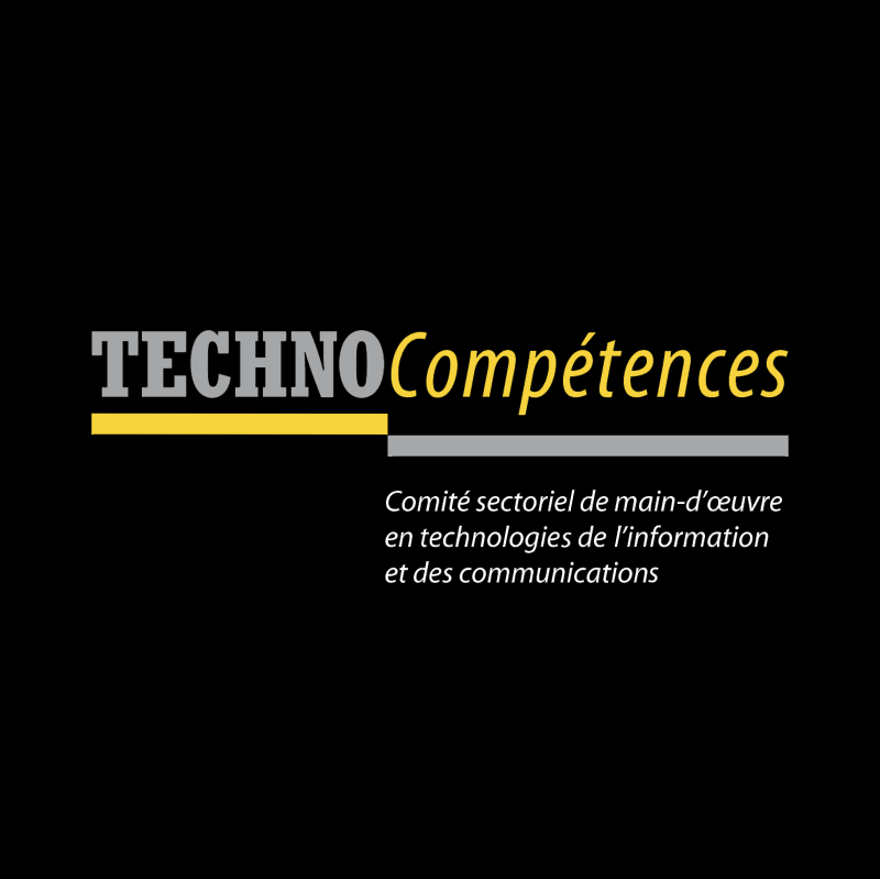 TECHNOCompetences vector