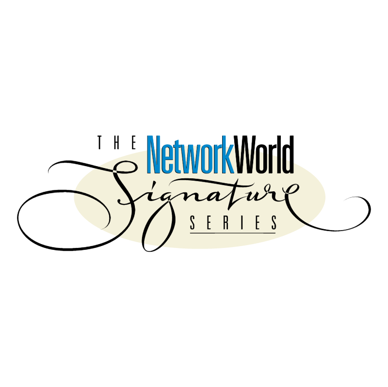 The NetworkWorld Signature Series vector