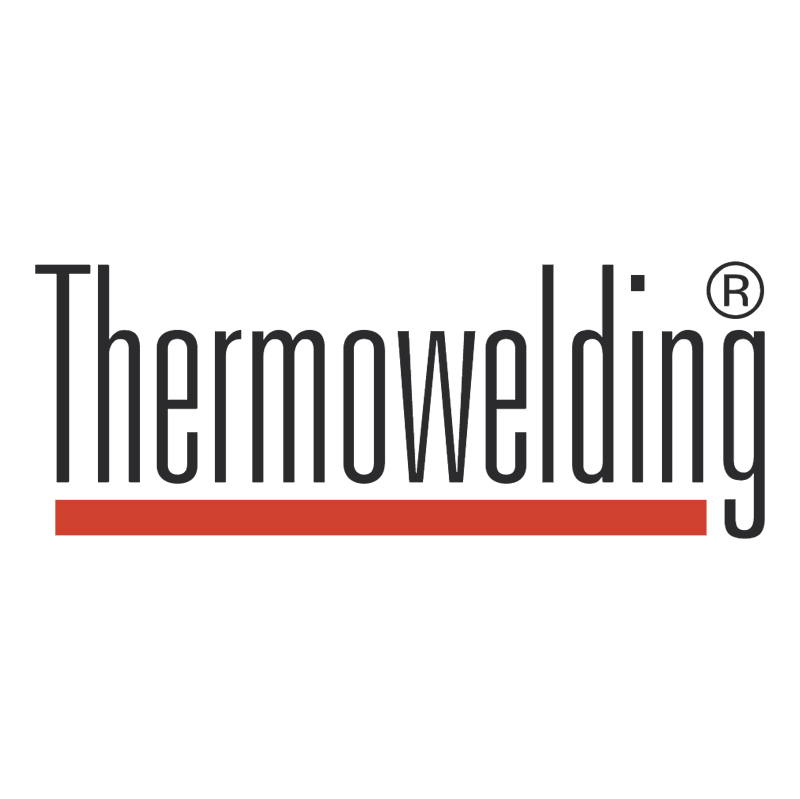 Thermowelding vector logo