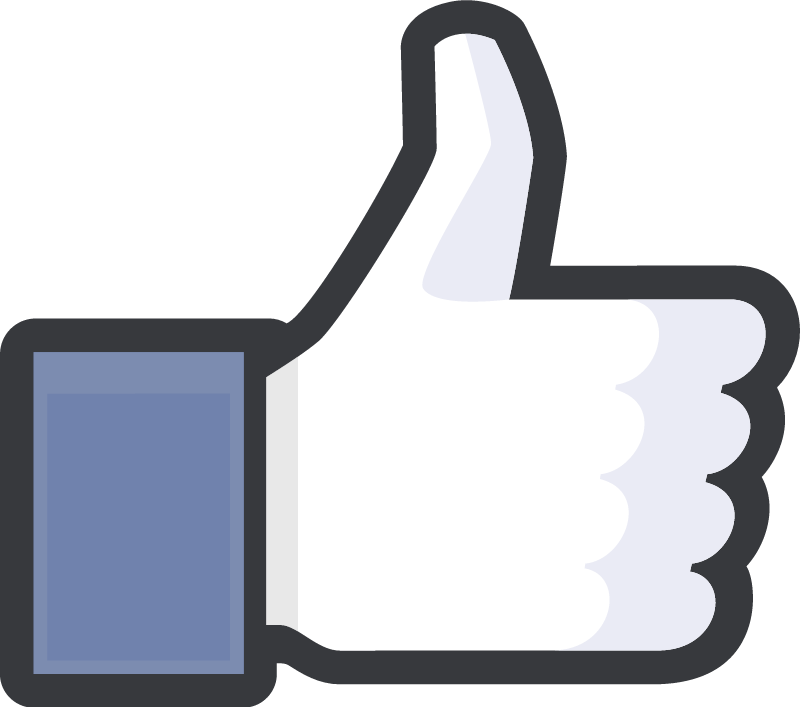 Thumbs Up Facebook vector