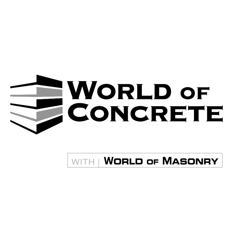 World Of Concrete vector logo