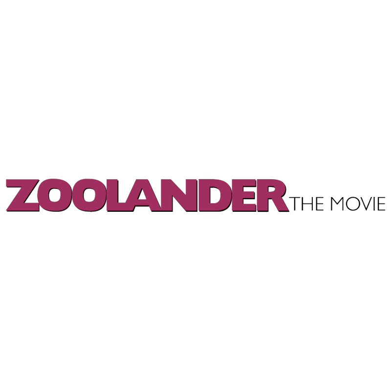 Zoolander The Movie vector logo