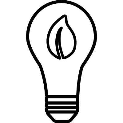 Light Bulb vector logo
