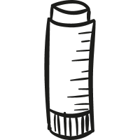 Glue stick vector