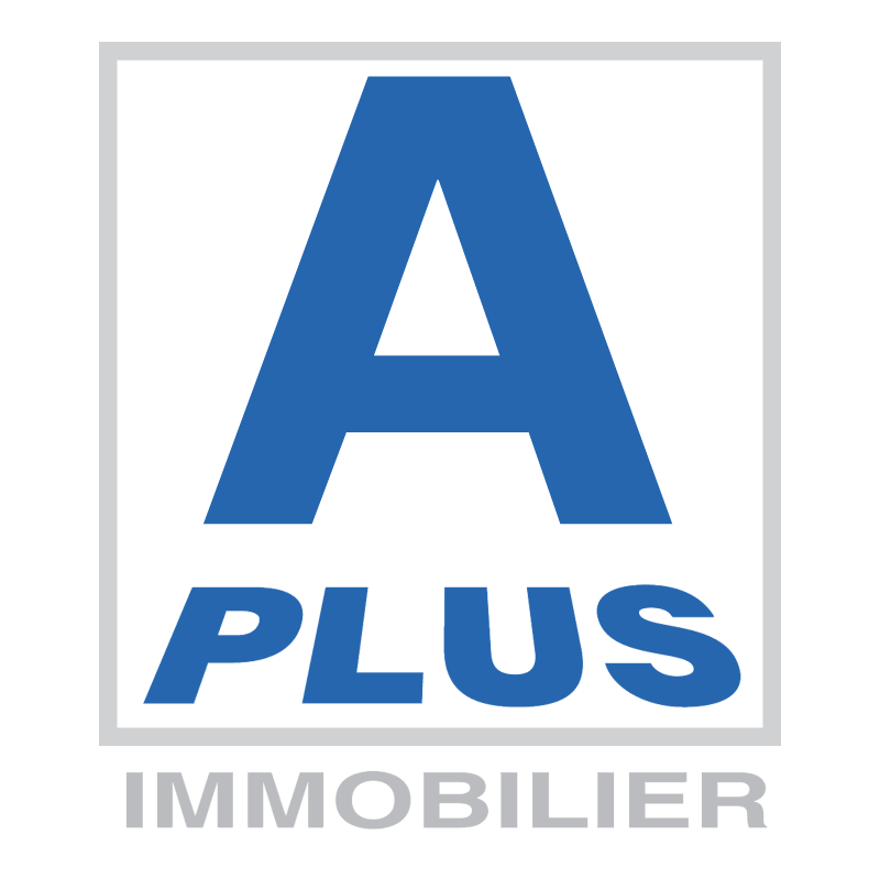 A Plus Immobilier vector