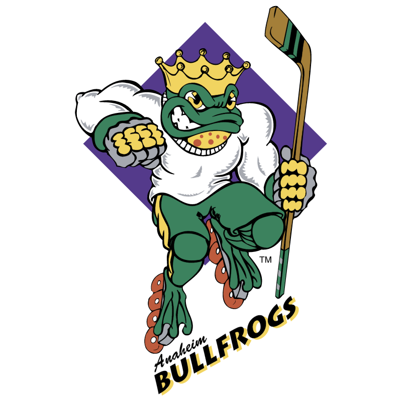 Anaheim Bullfrogs vector