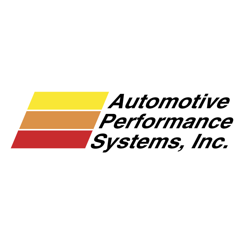 Automotive Performance Systems 62929 vector logo