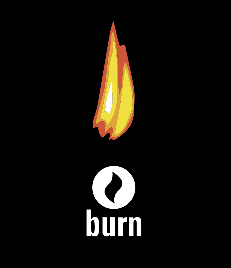 Burn vector logo