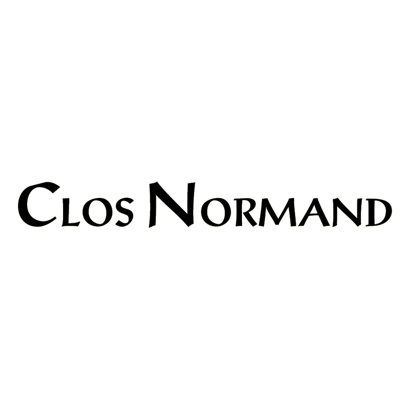 Clos Normand vector logo