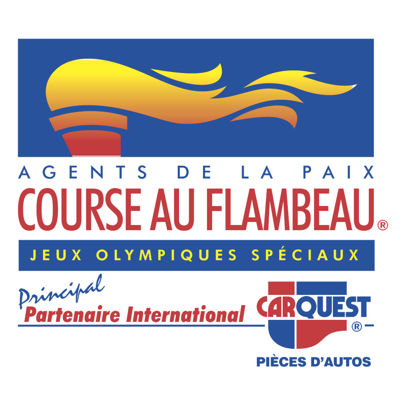 Course Au Flambeau vector