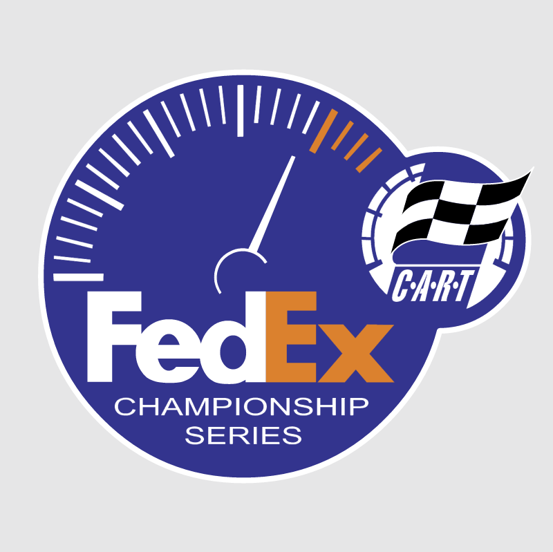 FedEx Sponsors of CART vector