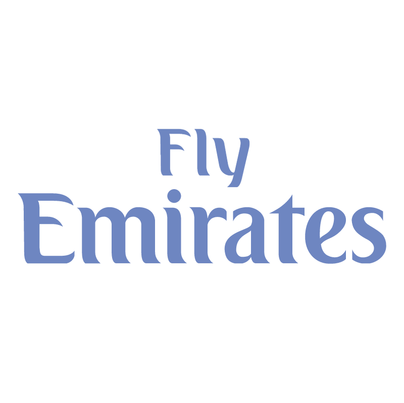 Fly Emirates vector