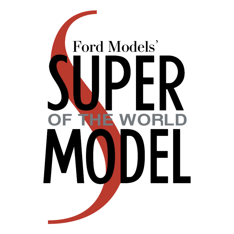 Ford Models' Super of the World vector logo