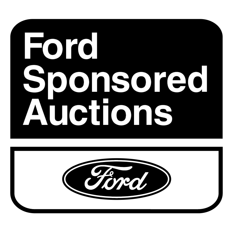 Ford Sponsored Auctions vector