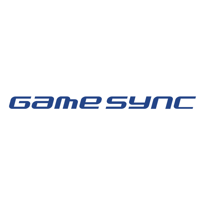 Game Sync vector logo
