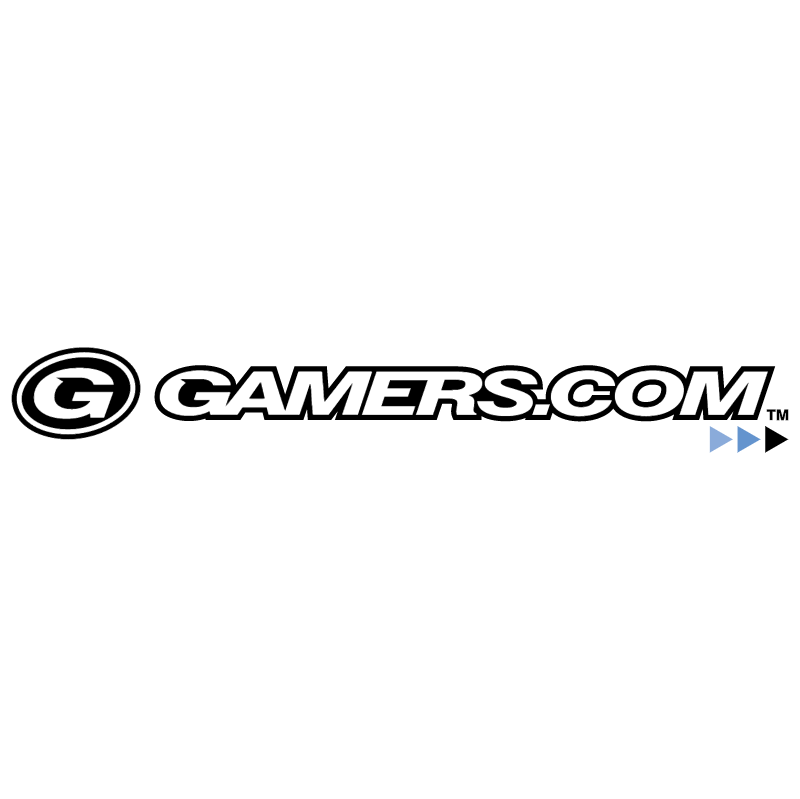 gamers com vector logo