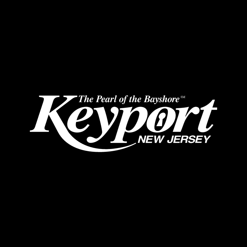 Keyport New Jersey vector