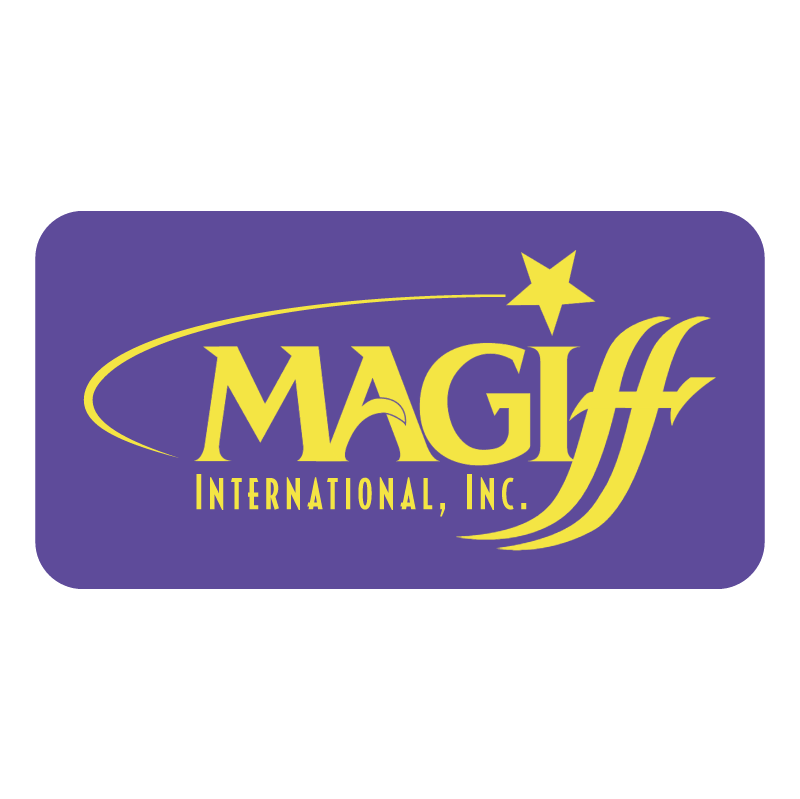 Magiff International vector logo