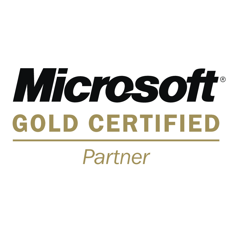 Microsoft Gold Certified Partner vector
