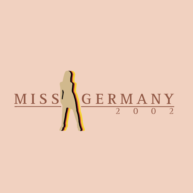 Miss Germany vector