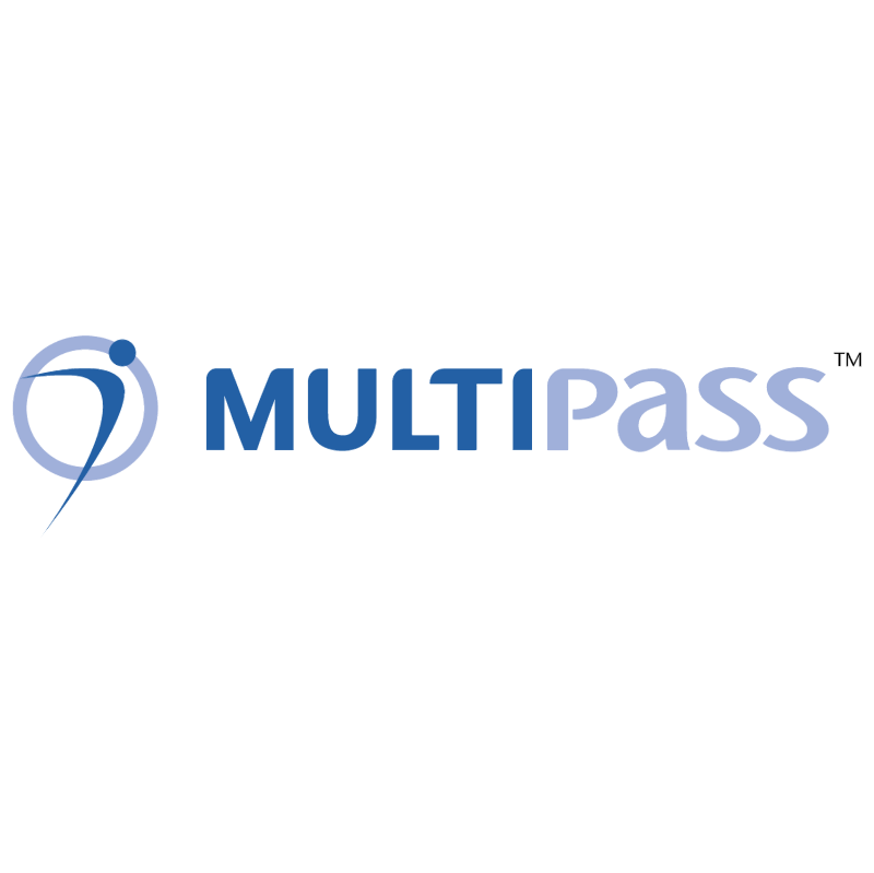 MultiPass vector logo