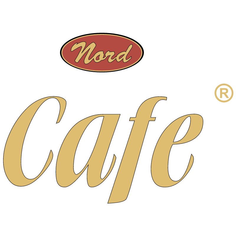 Nord Cafe vector logo